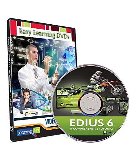 Easy Learning EDIUS 6 Video Training Tutorial Course (DVD)