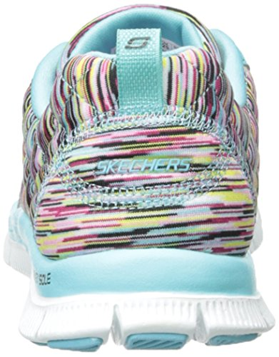 Skechers Damen Flex Appeal Whirl Wind Sneakers Türkis (TQMT)
