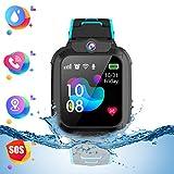 Montre Smart Watch Tracker pour Enfants - Smartwatches pour Enfants IP67 étanche...