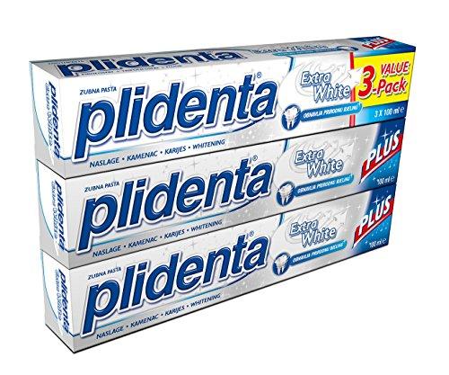 PLIDENTA Extra White Toothpaste 3er-Pack