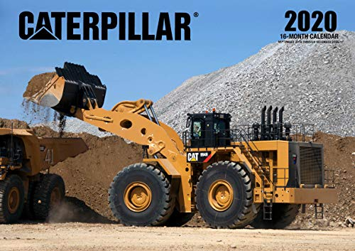 Calendario 2020 Maxim.Caterpillar 2020 16 Month Calendar Includes September 2020 Through December 2020