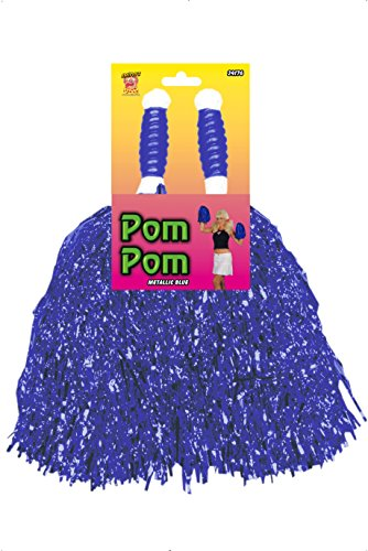 Pom Poms Cheerleader BLAU Pompoms B�schel Party