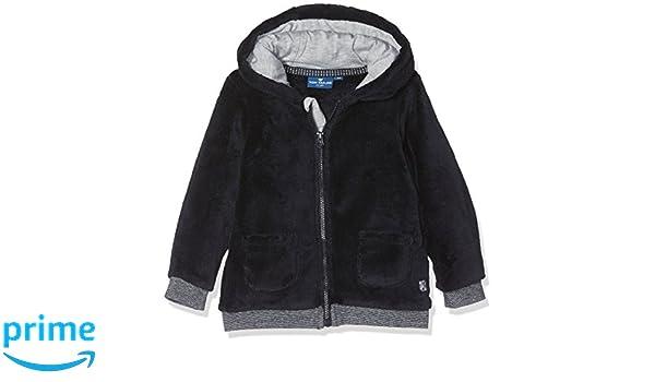 TOM TAILOR Kids Baby-Jungen Sweatshirt Teddy Fleece Jacket, Blau (Knitted  Navy 6800), 80  Amazon.de  Bekleidung 3da33ff94f