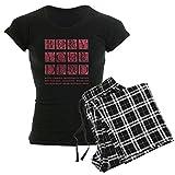 CafePress Bury Your Dead - Womens Novelty Cotton Pajama Set, Comfortable PJ Sleepwear