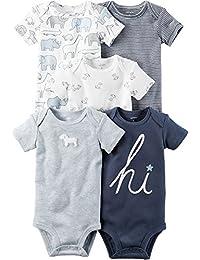 Carter s Body de 5 paires pour les bébé garçon garçons 6 mois Bleu salut ee695f4f9fa
