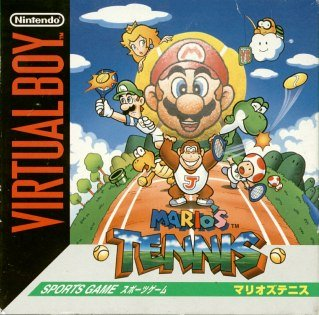 Mario tennis virtual boy
