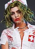 Magic Box Perruque Joker Vert Femme Style Dark Knight