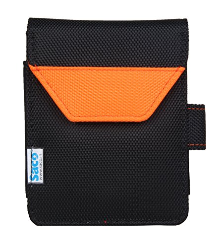 Saco Plug and Play External Hard Disk Hard Case Pouch Cover Bag for WD My Passport Ultra Metal Edition 1TB Hard Disk (Orange)  available at amazon for Rs.180