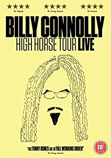 Billy Connolly: High Horse Tour [DVD] (B01JCTP2LG) | Amazon price tracker / tracking, Amazon price history charts, Amazon price watches, Amazon price drop alerts