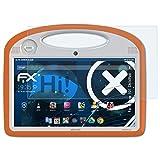 atFolix Schutzfolie kompatibel mit Archos 101 ChildPad Panzerfolie, ultraklare & stoßdämpfende FX Folie (2X)