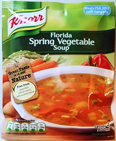 Knorr Soupe aux légumes de printemps en Floride - 3 x (3 Zuppa)