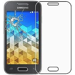 ebestStar - Compatible Verre trempé Samsung Galaxy Trend 2 Lite SM-G318H, Galaxy V Plus Film Protection Ecran Vitre Protecteur Anti Casse, Anti-Rayure, sans Bulles [Appareil: 121.4x62.9x10.7mm 4.0'']
