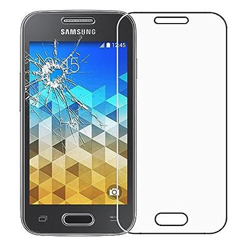 ebestStar - pour Samsung Galaxy Trend 2 Lite SM-G318H, Galaxy V plus - Film protection écran en VERRE Trempé - Vitre protecteur anti casse, anti-rayure [Dimensions PRECISES de votre appareil : 121.4 x 62.9 x 10.7 mm, écran 4'']