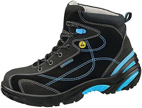 Abeba - Calzado de Protección para Hombre Multicolor Negro/Azul