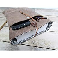 Protège livre fait main, housse protection livre 3 formats (poche - broché - littéraire), étui livre en tissus simili cuir, cadeaux, voyage, noël, anniversaire, cadeaux personnalisés