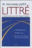 Le Nouveau Petit Littré - Rue des écoles - 20/07/2005