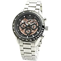 [Fortuna] Manual winding/Self-winding Watch with Natural Diamond / Mechanical Watches for Men