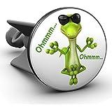 Plopp Waschbeckenstöpsel Yoga Lizard, Stöpsel, Excenter Stopfen, für Waschbecken, Waschtisch, Abfluss, 584