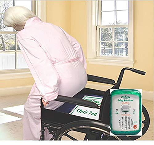 Chair Alarm and Chair Exit Pad, So You Know When You Elderly Patient Is Getting Up! by Smart -
