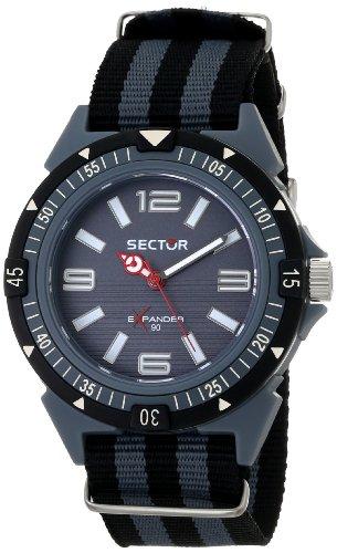 Sector  R3251197026 - Reloj de cuarzo para hombre, con correa de tela, color bicolor