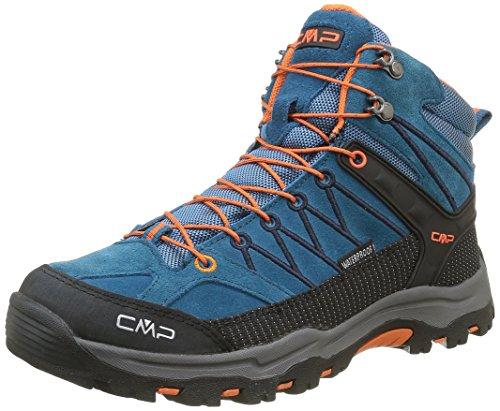 CMP Rigel - Scarpe da trekking e da passeggiata Unisex - Adulto, Blu (Blau (DENIM L580)), 38
