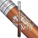 Ezee Fun Cigarette Électronique au parfum de Cappuccino | Sans Nicotine ni Tabac | E-Cigarette Jetable | 1 ml d'e-liquide avec jusqu'à 400 bouffées | Paquet de 2