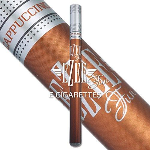 Ezee Go E Zigarette | Cappuccino Geschmack | Nikotinfrei vape pen | Elektronische Verdampfer einweg | e Shisha | 2 Stück