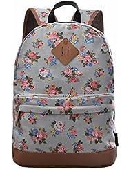 Douguyan - Fashio Mochila de Las Mujeres Mochilas de a diario mochila de universidad Mochilas escolares - E00133a