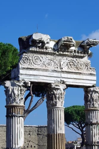 Ancient Roman Ruins The Forum of Caesar and the Temple of Venus Genetrix, Italy: Take Notes, Write Down Memories in this 150 Page Lined Journal