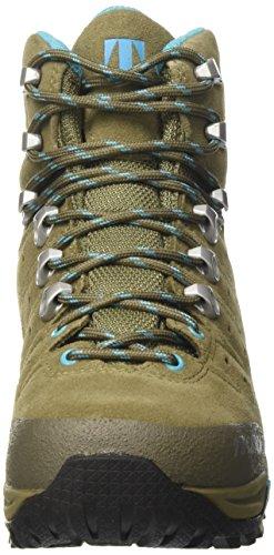 Tecnica Aconcagua Ii Gtx ョ Ws, Scarpe da Camminata Donna Multicolore (Beige/Turchese)