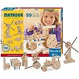 Matador Klassik 0 Kit de Construcción de Madera (99 piezas)