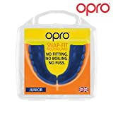 OPRO Snap-Fit Mouthguard, Kids, Electric Blue