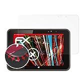 atFolix Schutzfolie passend für Fujitsu Stylistic V535 Industrial Folie, entspiegelnde und Flexible FX Displayschutzfolie (2X)