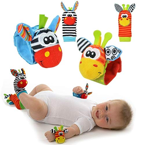 Cute Animal Infantil 4pcs 2pcs cintura 2pcs calcetines