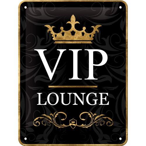 Nostalgic-Art 26123 Achtung - VIP Lounge, Blechschild 15x20 cm