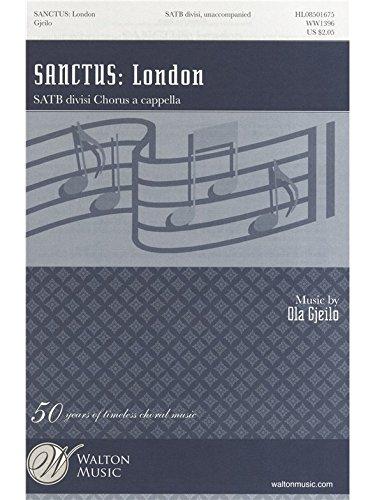 Sanctus - SATB - CHORAL SCORE