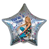 Amscan Foil Balloon Hannah Montana You'Re A Star, 45 Cm