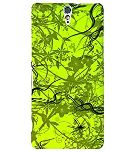 PRINTSWAG PATTERN Designer Back Cover Case for SONY XPERIA C5 DUAL