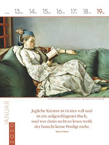 Literaturkalender Frauen lieben Lesen 2020: Literarischer Wochenkalender - 4