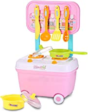 TEENA'S Kids Household Playset Kitchen Toy Set for Kids