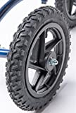 Knee Walker 12 inch Replacement Pneumatic Wheel for All Terrain KneeRover - Part Includes Bearings Tire and Tube