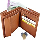 Best Gifts Under 50 For Men - AMJON Stylish Tan Men's Wallet's Review
