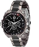 #8: LimeStone ~Nextra M7~Round Casual Analog Silver Stainless Steel & Black Dial Men's / Boy's Wrist Watch - LS2627