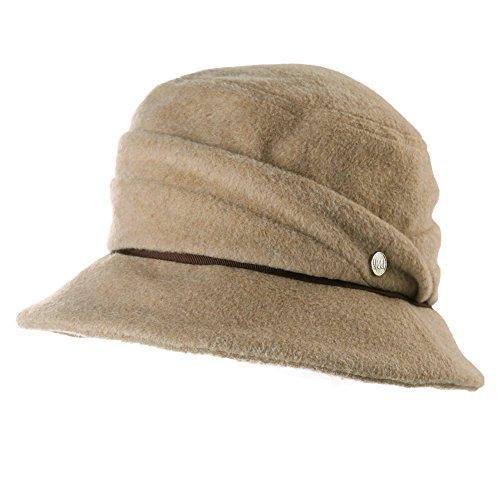 Damen Cloche Bucket Hut warme weiche 1920s Vintage Glockenhut Winter SIGGI (Hut Cloche 1920)
