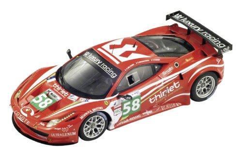 fujimi-tsm11fj019-vehicule-miniature-modele-a-lechelle-ferrari-458-italia-gt2-le-mans-2011-echelle-1