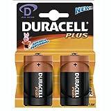 Duracell 49513 Alkaline Batterie'PLUS POWER', Mono D, 2er Blister