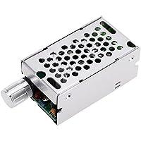KKmoon Continua ajustable cepillo PWM Motor variador regulador 12V/24V/36V/60V 8A 400W con mando