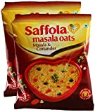 #8: Star Combo - Saffola Masala Oats Masala and Coriander, 40g (Pack of 2) Promo Pack