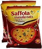 #8: Star Combo - Saffola Masala Oats Masala and Coriander, 40g (Pack of 2) Promo Pack