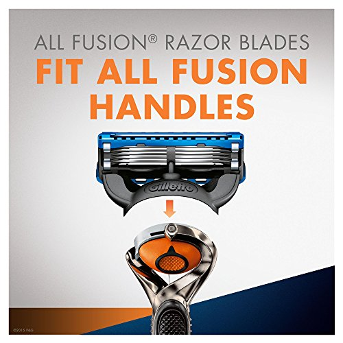 Gillette Fusion ProGlide Men's Razor with Flexball Technology and 4 Razor Blades, Starter Kit